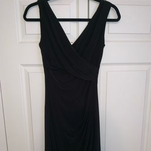 Black sheath dress by Ralph Lauren